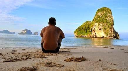 Carlos Melia in Thailand