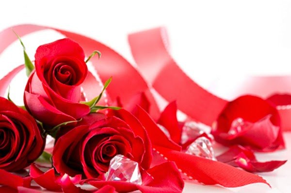 Le rose rosse sono uno dei simboli di San Valentino