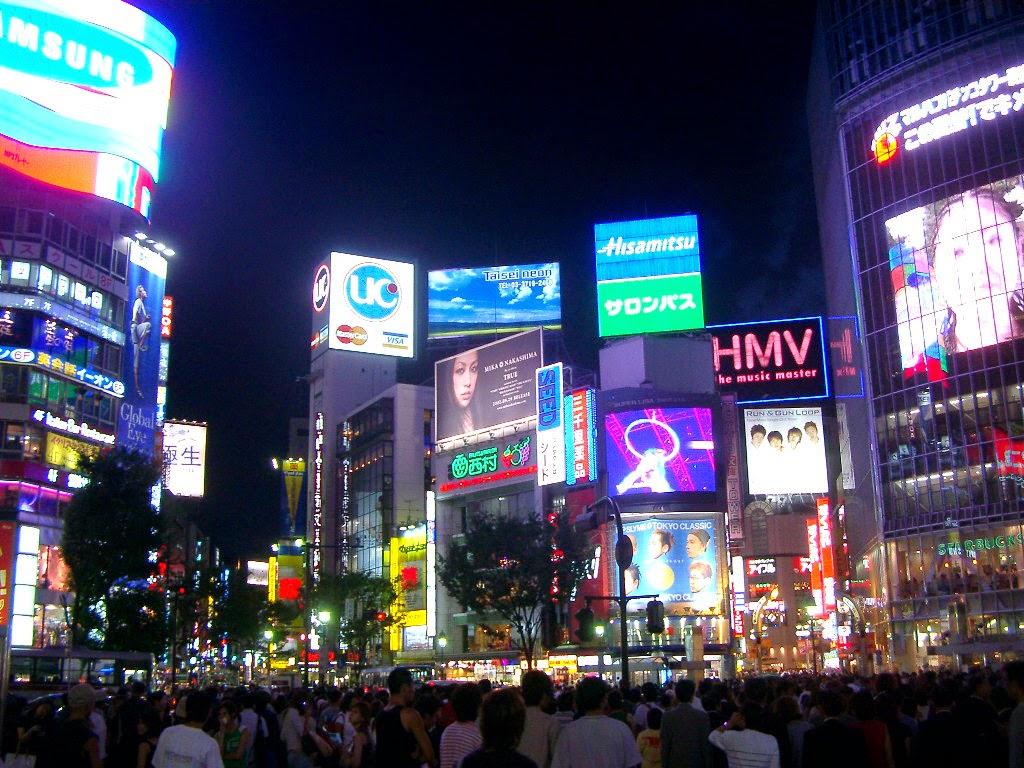 Il quartiere più frenetico ed illuminato di Tokyo, Shibuya