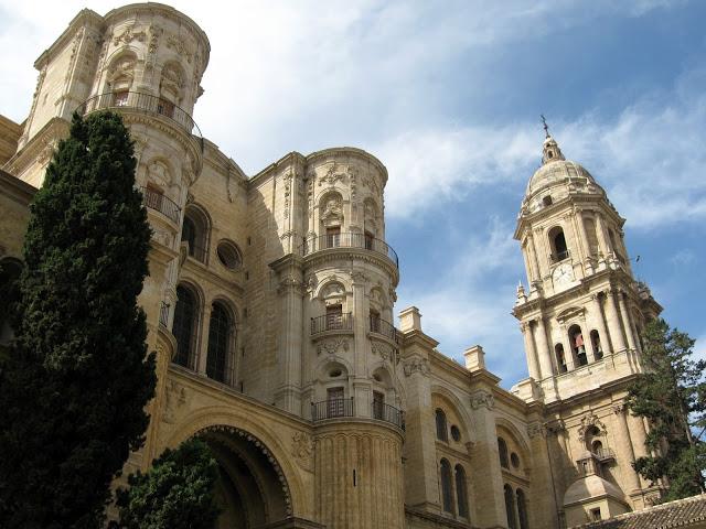 foto della cattedrale dell'incarnazione a malaga