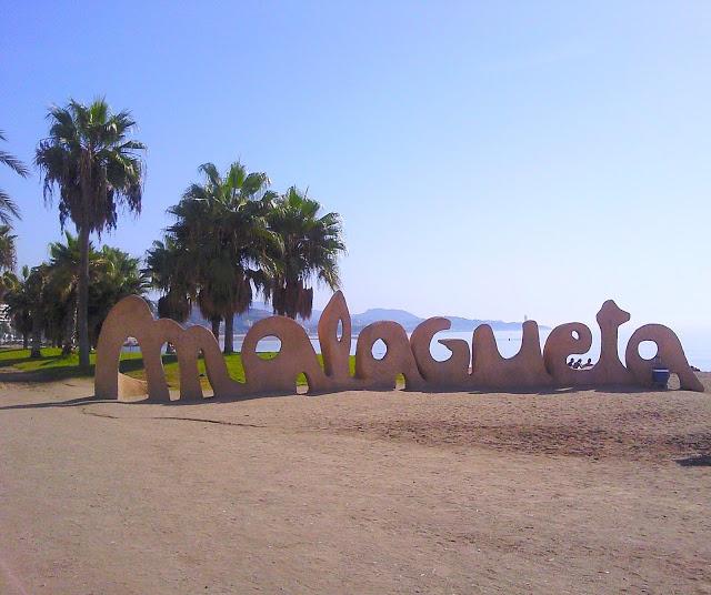 foto della malagueta la più famosa tra spiagge di malaga