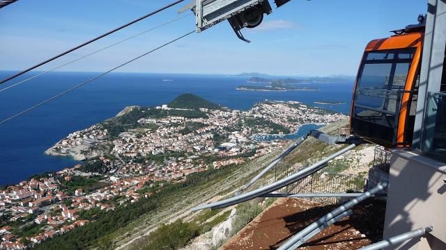 La funicolare di Dubrovnik