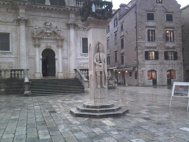 La Colonna di Orlando a Dubrovnik