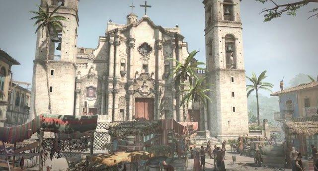 La Cattedrale de L'Avana in Assassin's Creed Black Flag