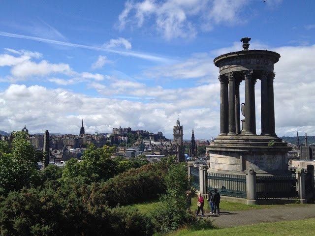 Carlon Hill a Edimburgo