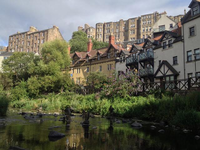 Dean Village a Edimburgo