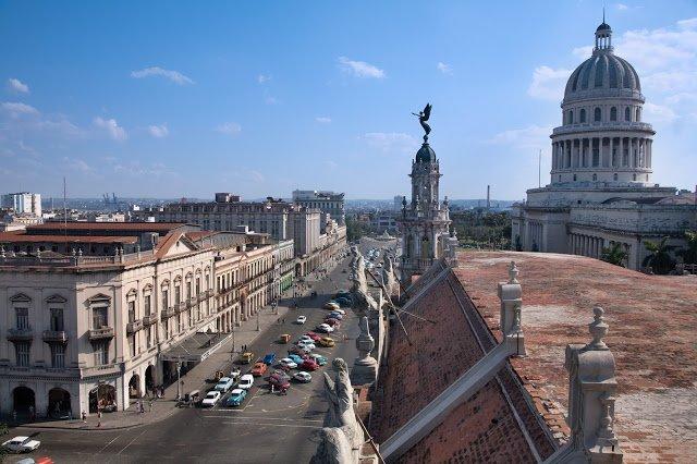 Una magnifica vista della città di L'Avana, Cuba