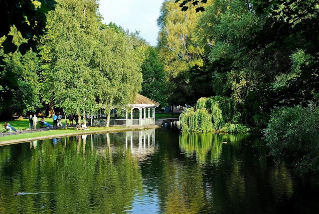 Gazebo del St Stephen's Green Park a Dublino