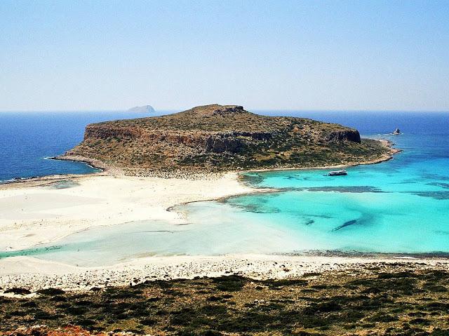 isola di gramvousa, balos di creta