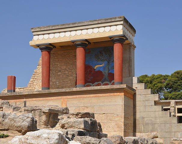 sito archeologico di Cnosso, Creta