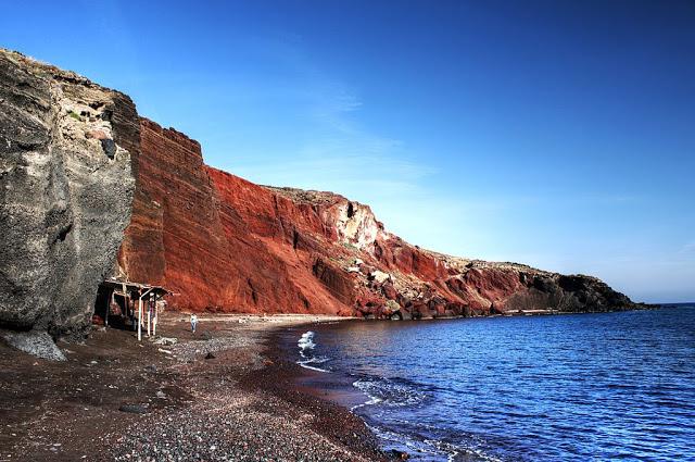 spiaggia Akrotiri santorini