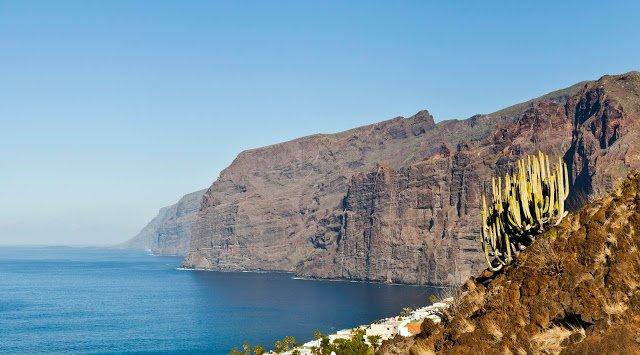 Vista panoramica di Los Gigantes, Tenerife