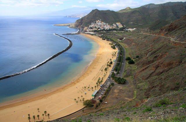 Playa de Las Teresitas di Tenerife, Isole Canarie