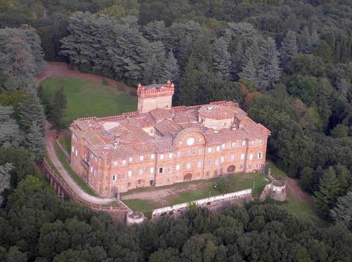 Castello Sammezzano: il parco
