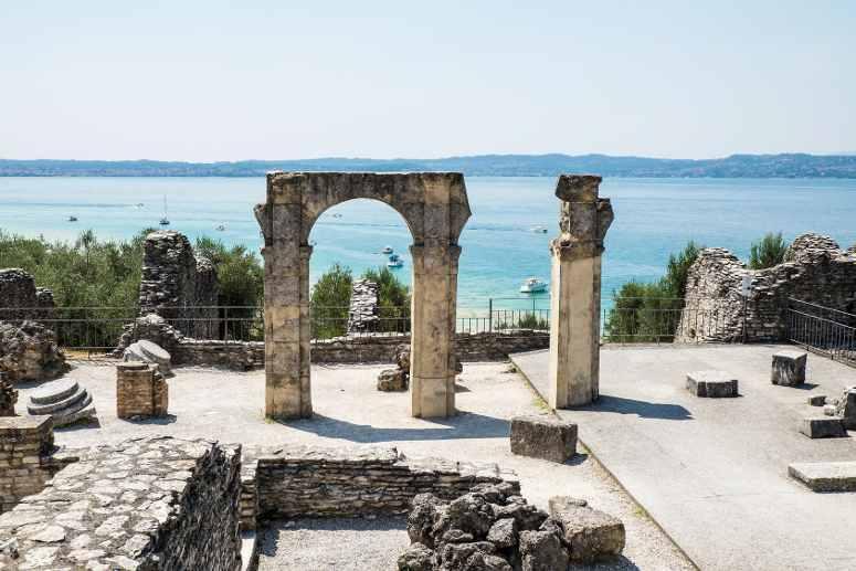 Le terme di Catullo a Sirmione sul lago di Garda