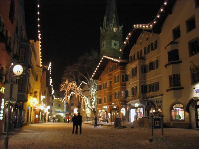 Sciare in Austria a Kitzbuhel