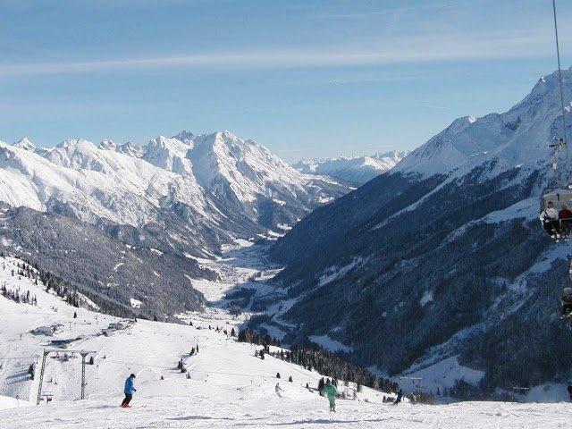 St Anton tra le località sciistiche dell'Austria