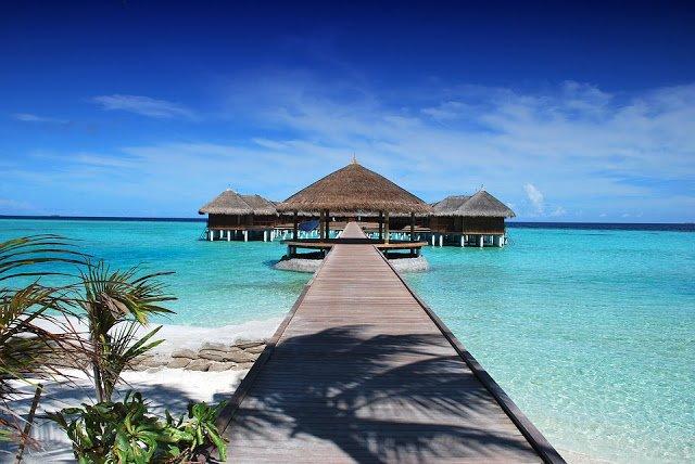 Il mare a gennaio: Maldive