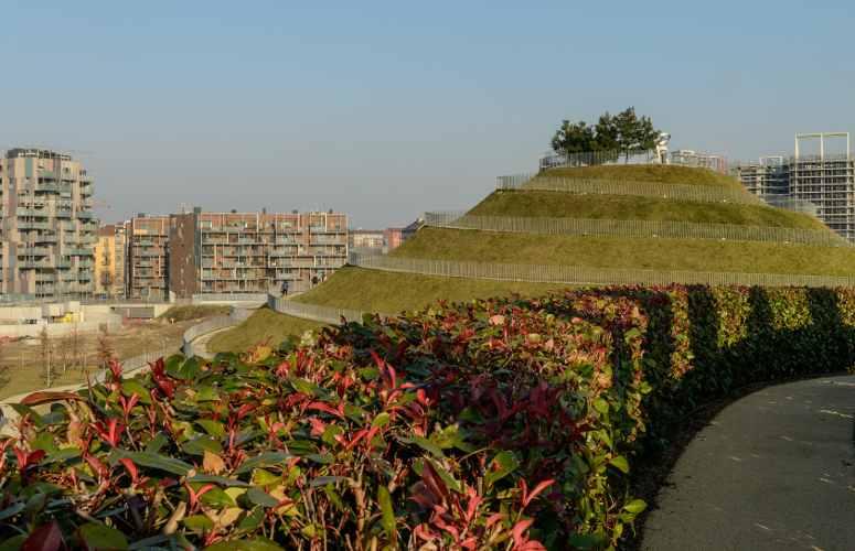 Parco Portello, zona nord di Milano