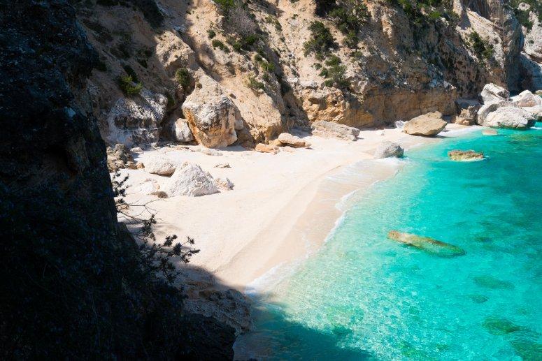 La meravigliosa spiaggia di Cala Mariolu