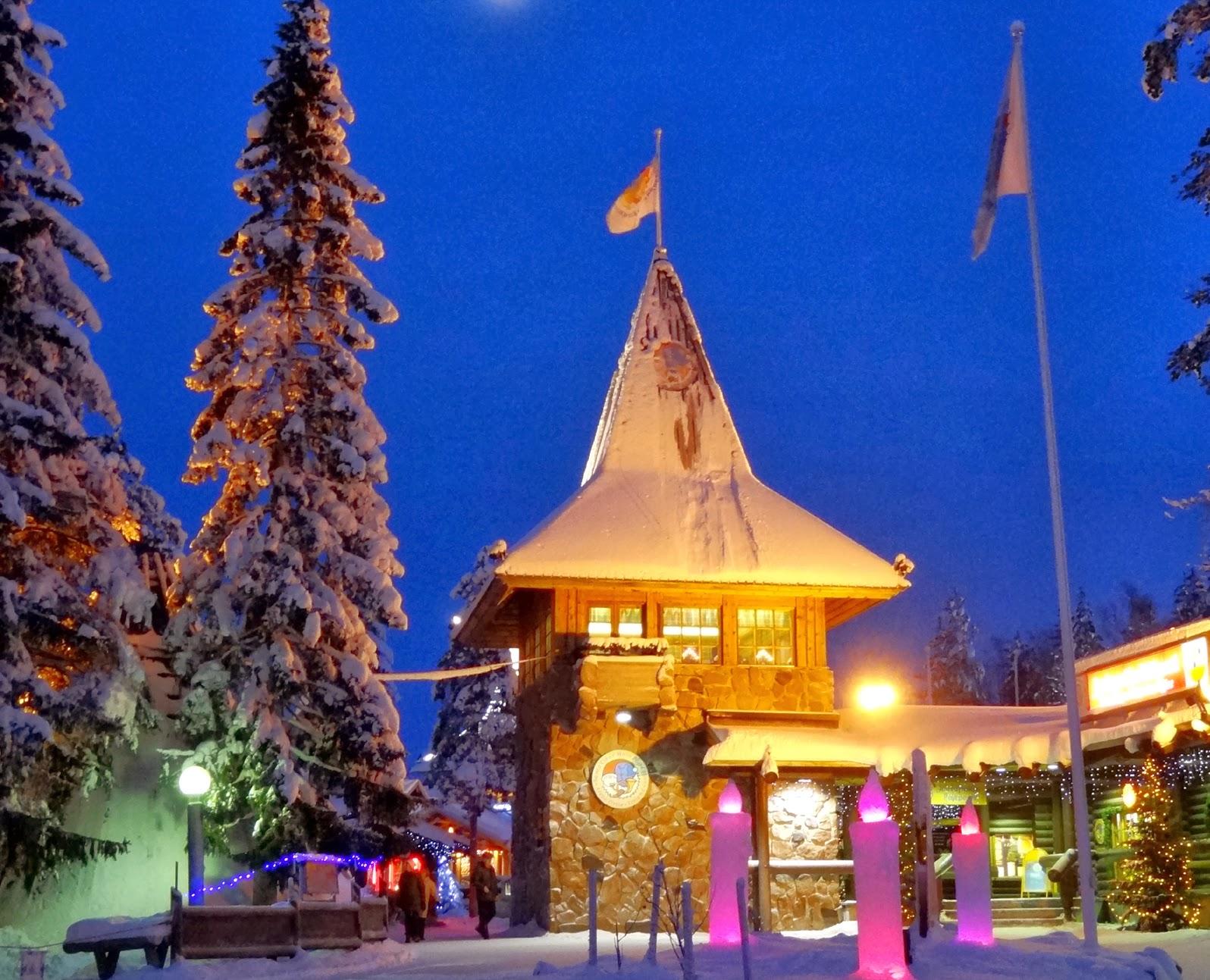 Dove E Babbo Natale.Il Natale Per I Bimbi E Piu Magico A Rovaniemi Il Paese Di Babbo