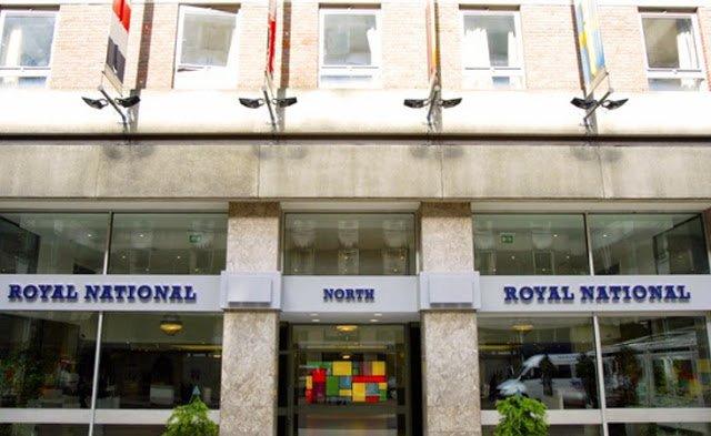 entrata hotel royal national a londra