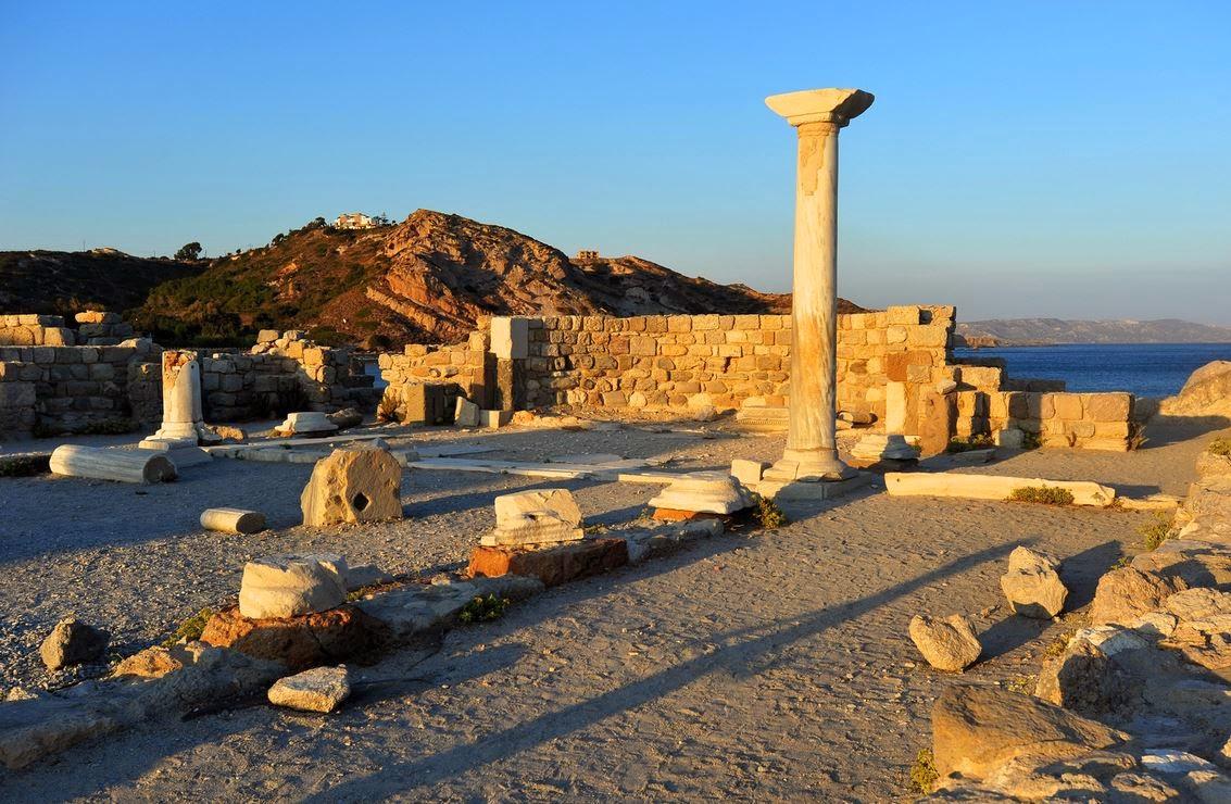La zona archeologica di Kos