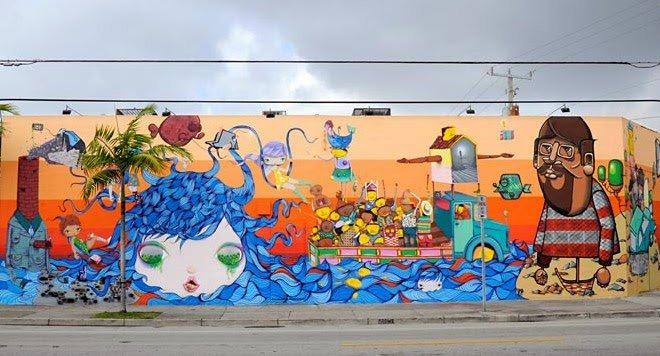 Art street, Mura di Wynwood di Miami