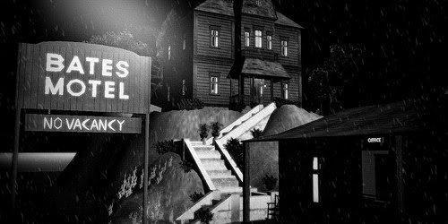 Il tipico motel protagonista di motli film americani