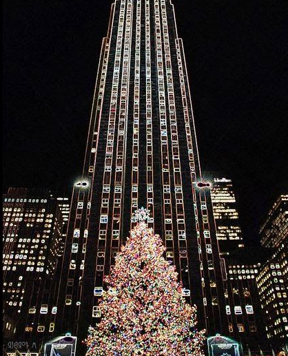 albero di natale rockefeller center new york