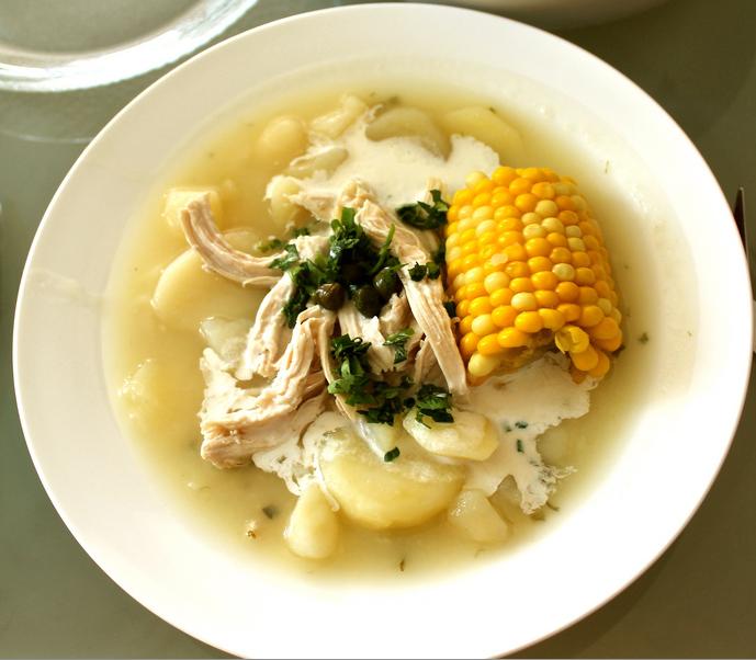Una sana zuppa per festeggiare il Natale colombiano