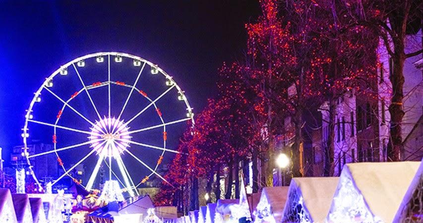 Un paradiso natalizio a Bruxelles