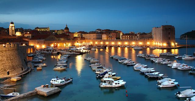 vacanze nel mare della croazia, a Dubrovnik