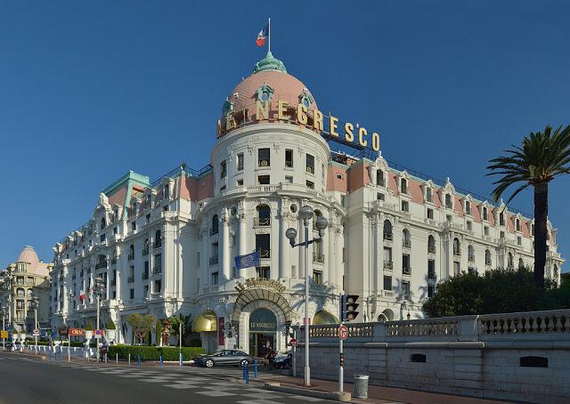 Tra gli hotel di Nizza c'è il lussuosissimo Hotel Negresco