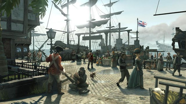 Port Royal nel videogioco Pirates of the Caribbean: At World's End