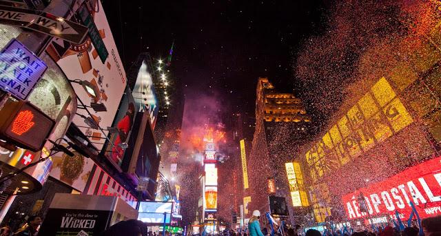 vivi un magico capodanno a times square, new york