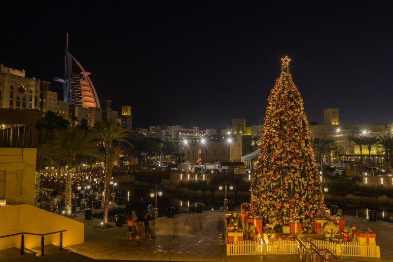 Natale al caldo a Dubai