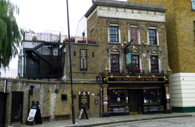 prospect of whitby pub di londra