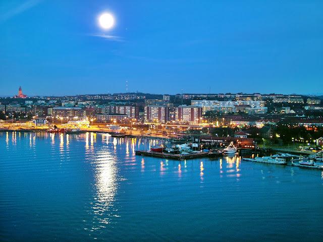 panoramica di Göteborg, svezia