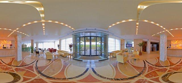 hall dell'hotel tiffany milano vicino centro fieristico di rho