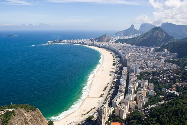 spiaggia di copacaban
