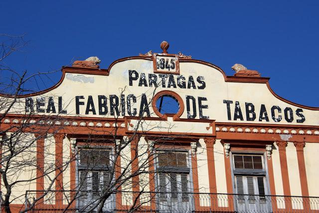 Real Fabrica de Tabacos Partagá a L'Avana