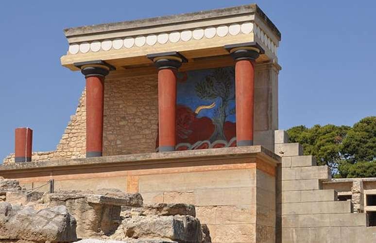 Il palazzo di Cnosso, vicino a Heraklion