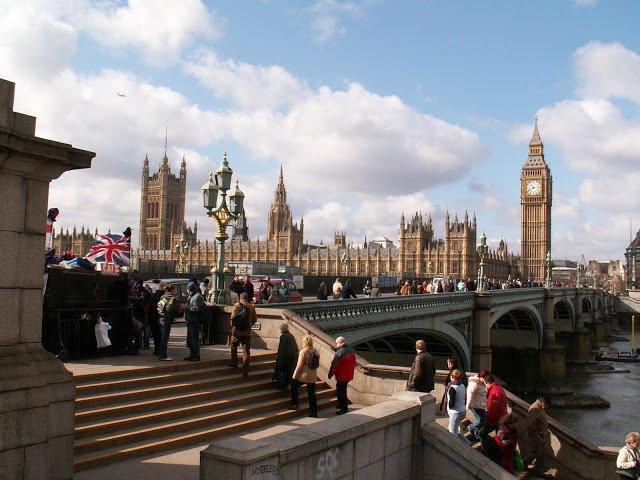 vista del Parlamento inglese