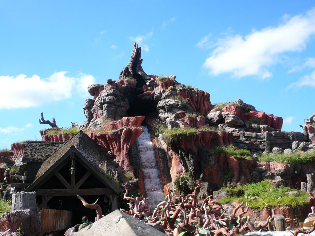 Splash Mountain At Magic Kingdom, Disney World, Orlando