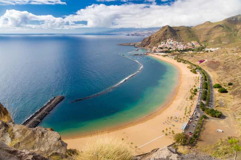 Las Teresitas, una delle spiagge più famose di Tenerife