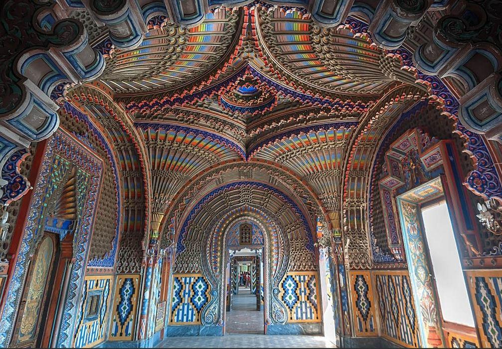 Sala dei Pavoni, Castello di Sammezzano
