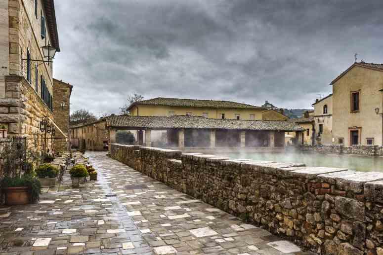 Bagno Vignoni, Siena