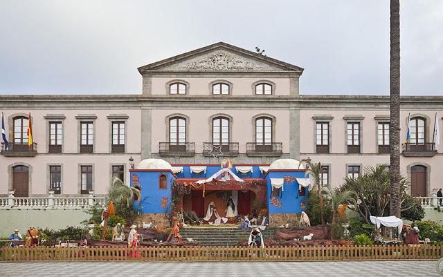 Rappresentazione della natività a La Orotova