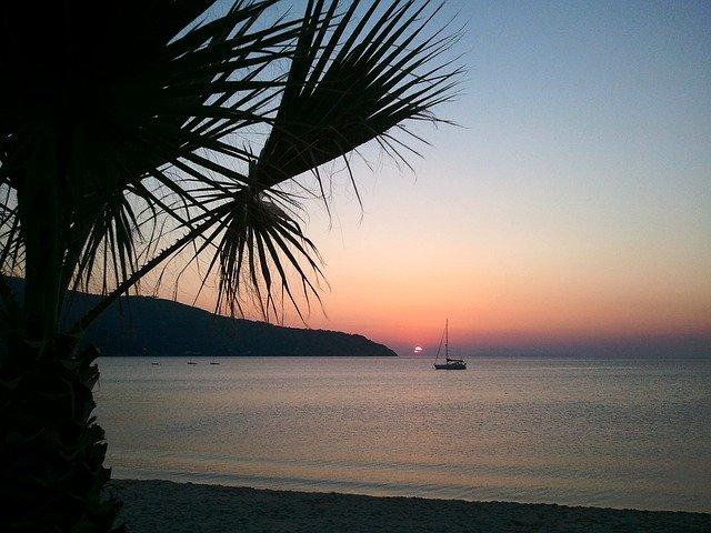 Isola d'Elba, Mar Tirreno: tramonto